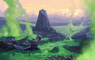 Poison Mist by FleetingEmber