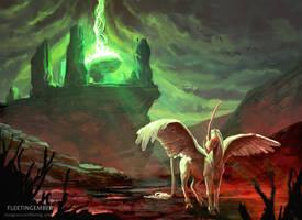 Dark Altar by FleetingEmber