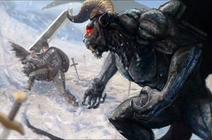 Berserk - Guts vs Zodd