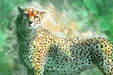 Cheetah by FleetingEmber