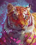 Golden Petal Tiger