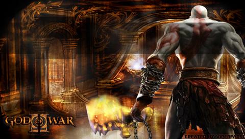 God Of War PSP Wallpaper By Viperfan91