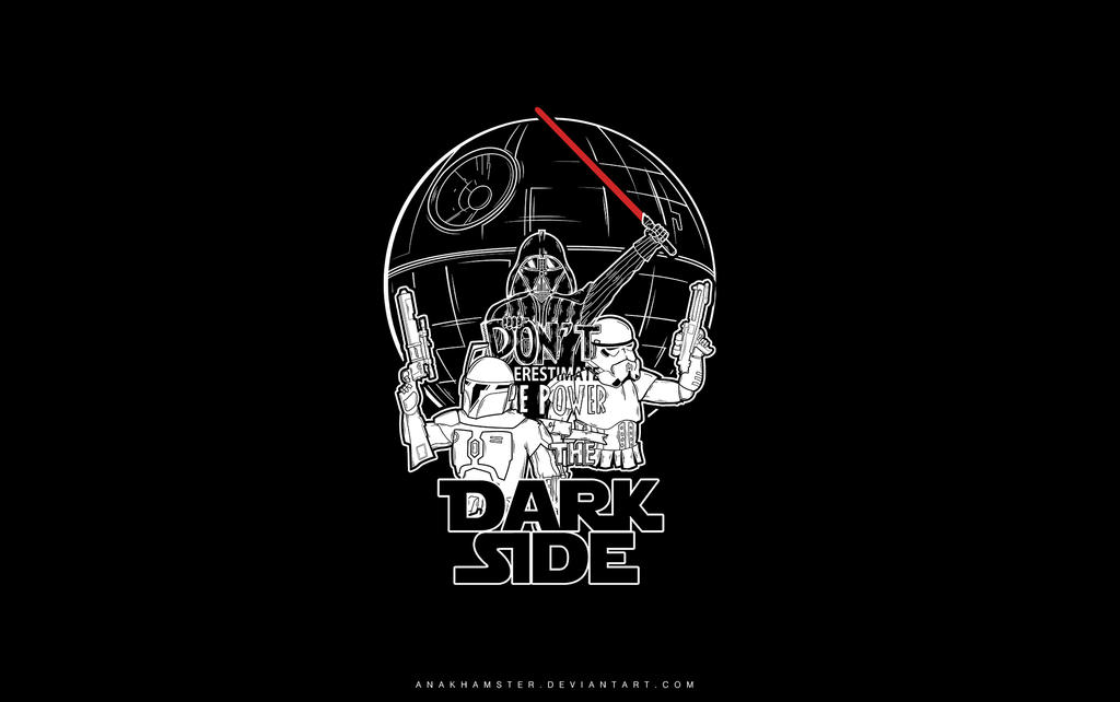 dark side wallpaper by anakhamster on deviantart