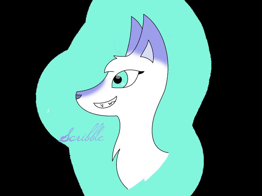 Scribble wolf by Alyssa258