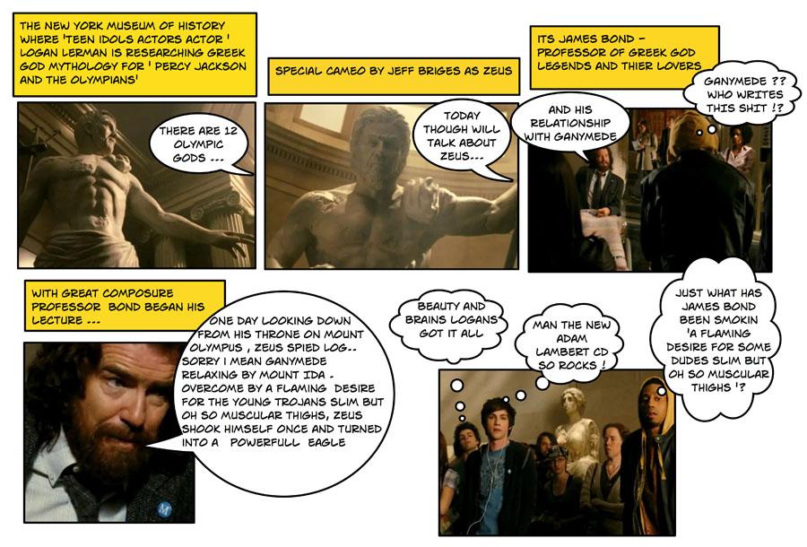 Порно комиксы перси джексон