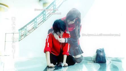 Kagerou Project : ShinAya - Lost time memory by azukajung