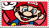 Not-So-3D Mario stamp 2 by KimberlyTheHedgie