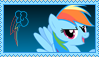 Rainbow Dash Stamp [Better] by KimberlyTheHedgie