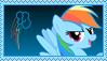 Rainbow Dash Stamp [Better] by KimberlyTheHedgie