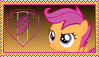 Scootaloo Stamp [Better] by KimberlyTheHedgie