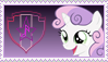 Sweetie Belle Stamp [Better] by KimberlyTheHedgie