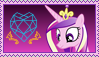 Princess Cadance Stamp [Better] by KimberlyTheHedgie