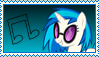 DJ Pon-3 Stamp [BETTER] by KimberlyTheHedgie