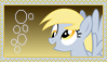 Derpy ''Muffins'' Hooves Stamp [Better] by KimberlyTheHedgie