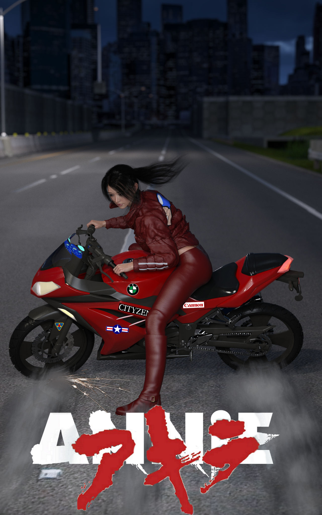 Anniekicks Akira Homage By Karateannie On Deviantart