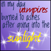 Vampires in MY day by digitalepidemic