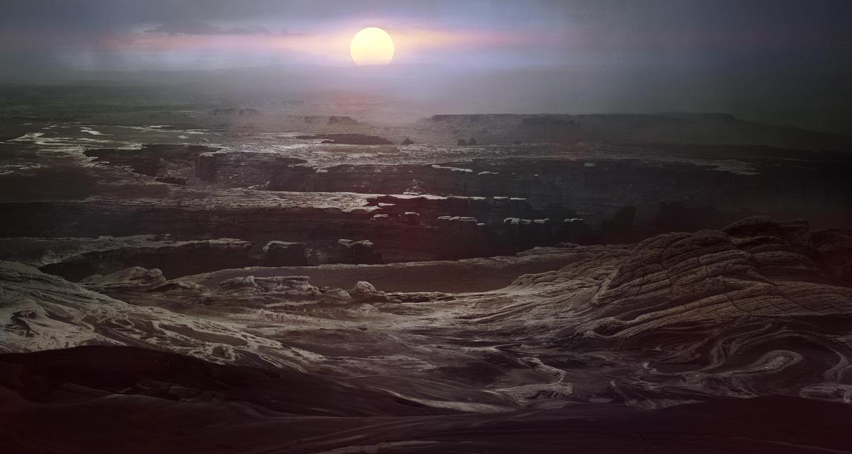 Barren Landscape by ApeironDiesirae