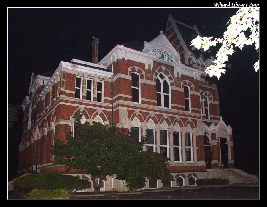 Willard Library 2am by boron