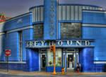 Greyhound Art Deco
