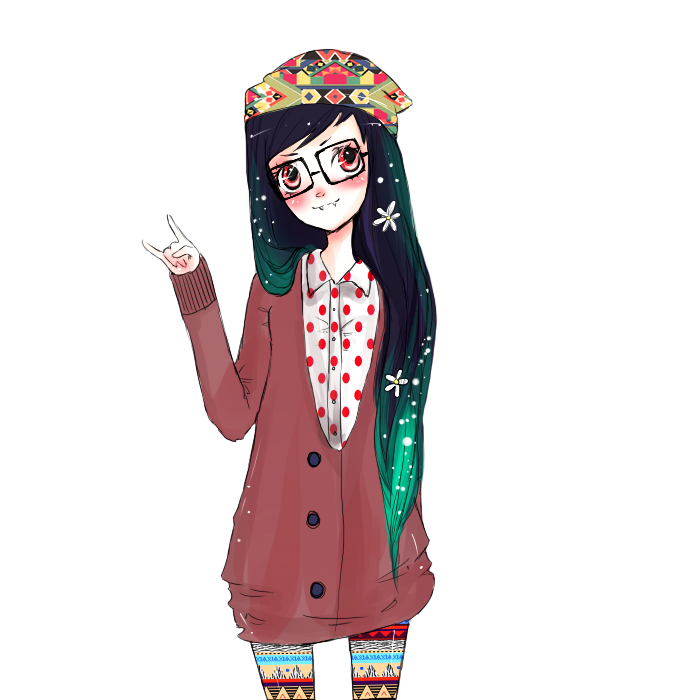 hipster marceline by iumba