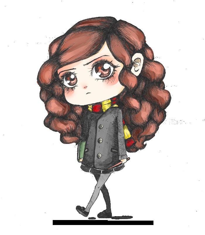 chibi hermione by alaskano