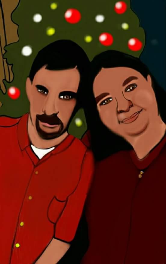 My friend Mateja and her boyfriend by katval1
