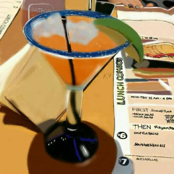 A Day At Applebee's by katval1