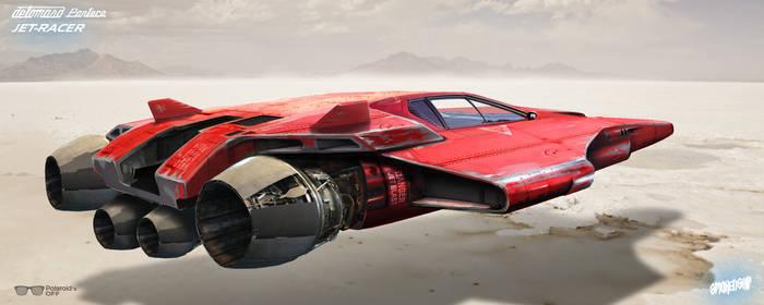 DeTomasso Pantera Jet-Racer (Shades Off)