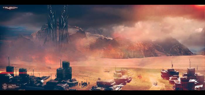 Planetary Settlement Concept Design