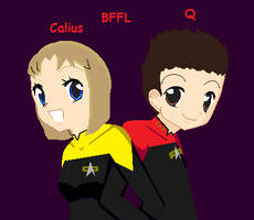 Calius and Q