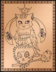 Tattoo concept - 03 - Happy magic by melichatmangart