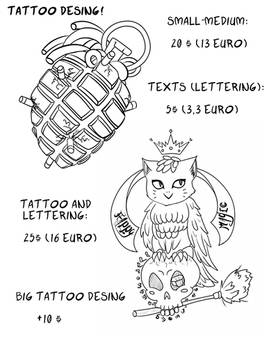 Tattoo desing commission (open)