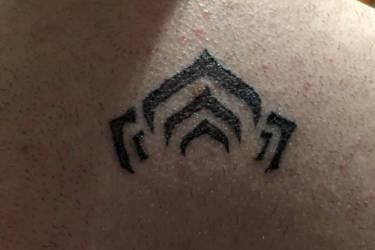 Tattoo warframe logo