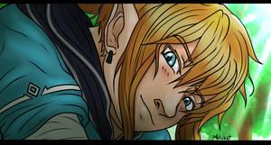 Wake up Zelda - fanart