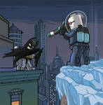 Lego Batman vs Mr. Freeze