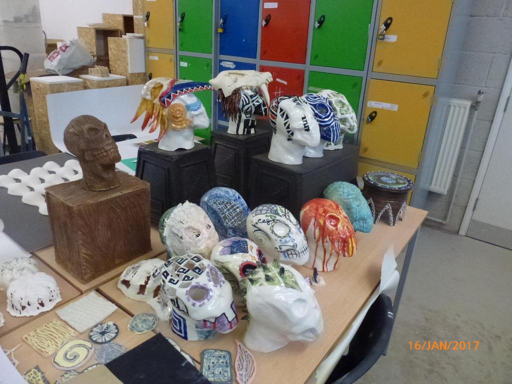 All my skulls by orangehokage7