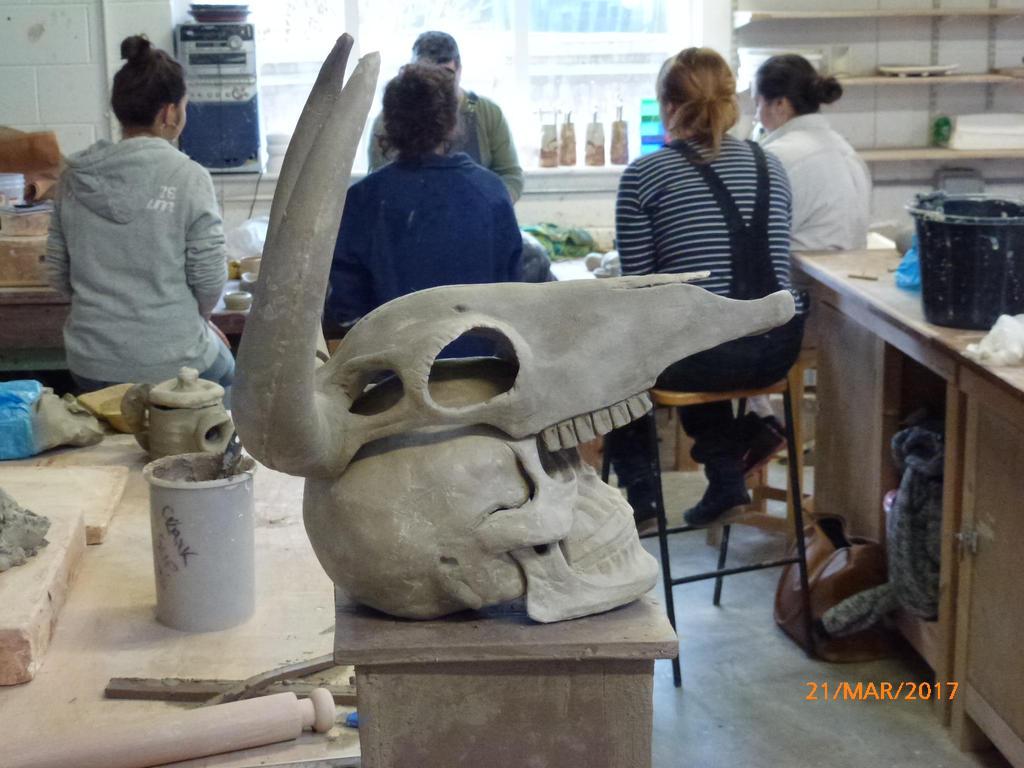 Bull Skull Headdress by orangehokage7