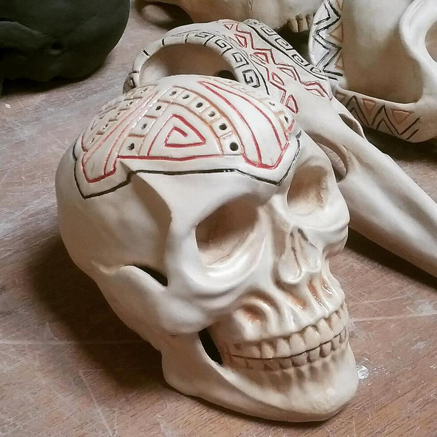 Skull 1 by orangehokage7