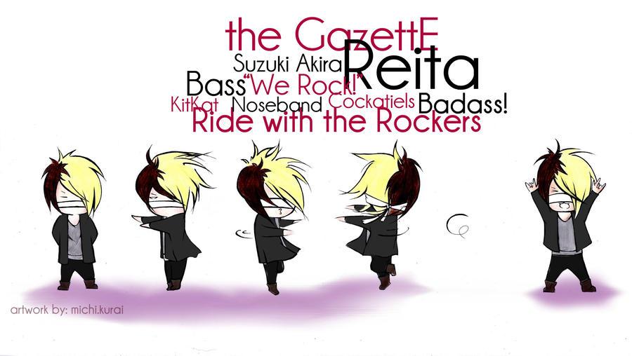 WE ROCK Reita by michikurai