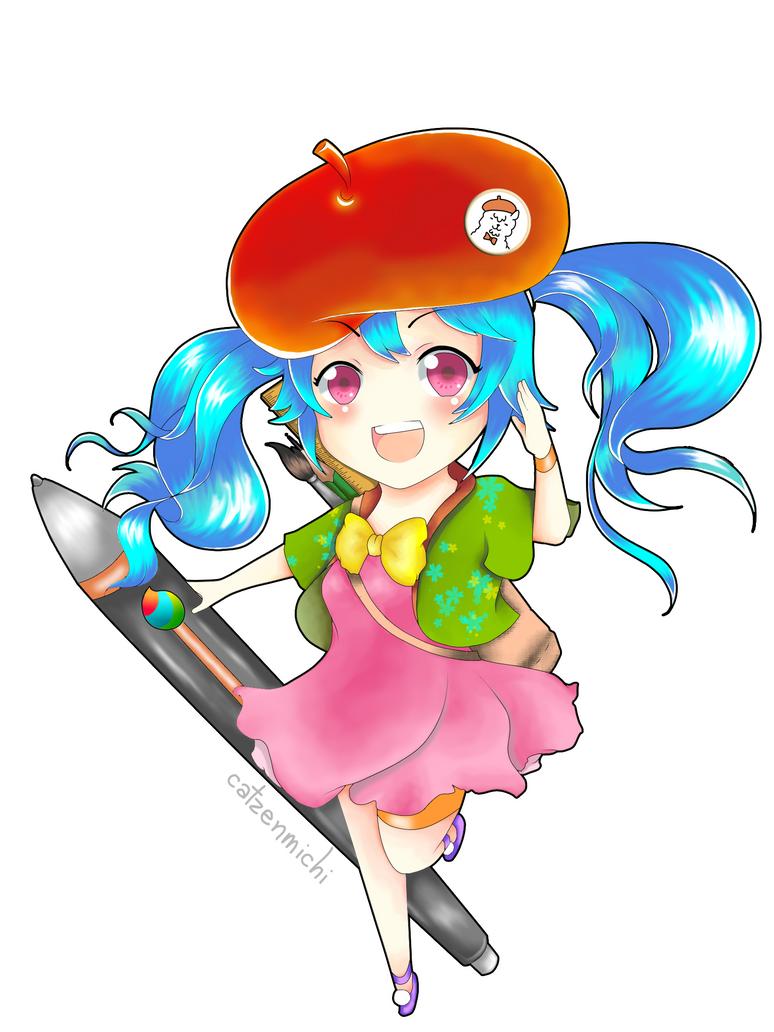 MediBang mascot entry by michikurai