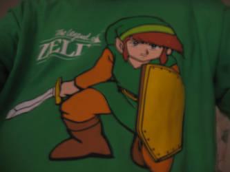 My Legend Of Zelda Shirt by DragonKnightVQ