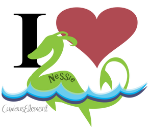 I Heart Nessie by CuriousElement