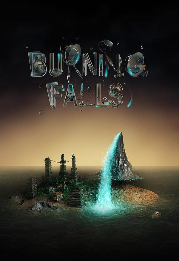 Burning Falls by Virus69