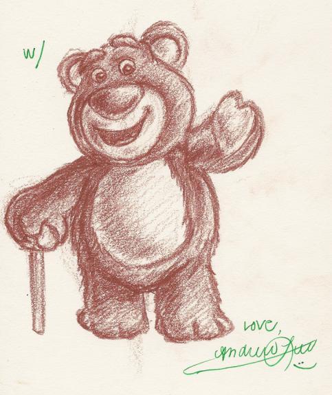 Lots-O'-Huggin' Bear by omgitsyourface