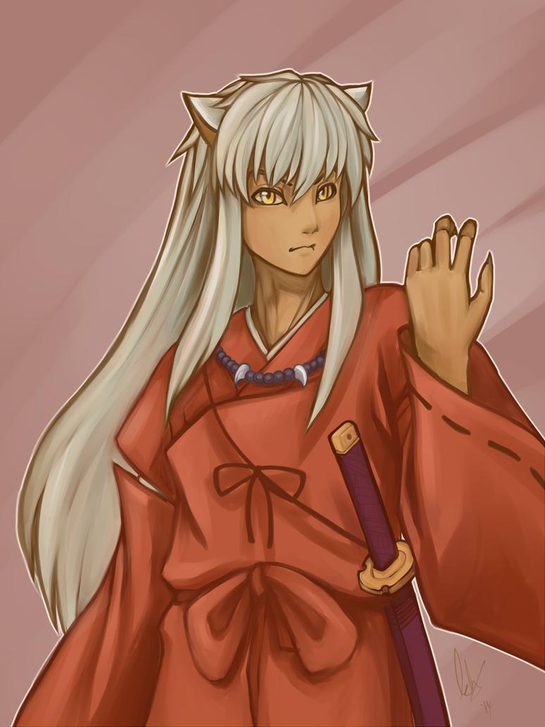 Inuyasha by emeraudolupus