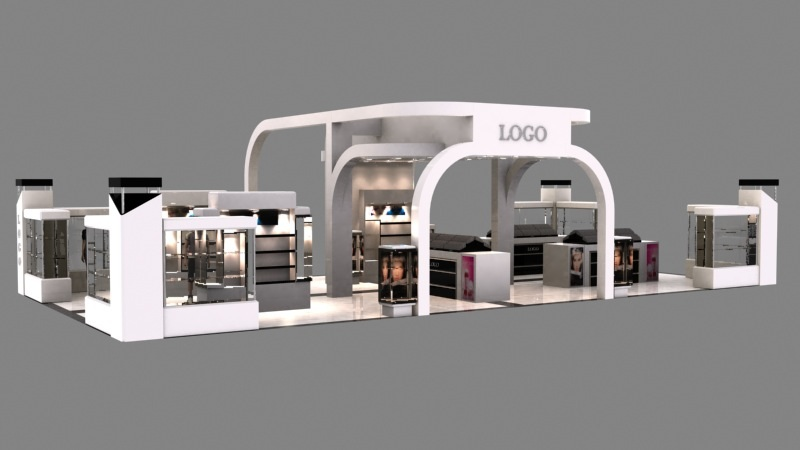 Exhibition Stand Cosmetics : Cosmetic exhibition stand by g studios on deviantart