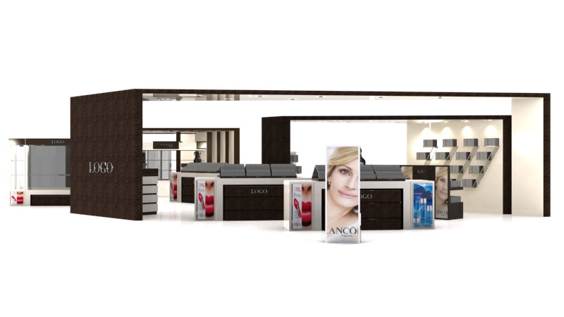 Cosmetic Exhibition Stand Design : Cosmetic exhibition stand by g studios on deviantart