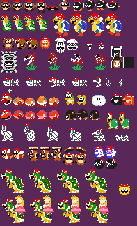 Super Mario Odyssey Enemies Sprites Modification By Jules1114 On