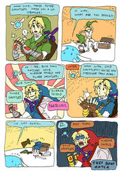 OoT: They don't match. by evelmiina