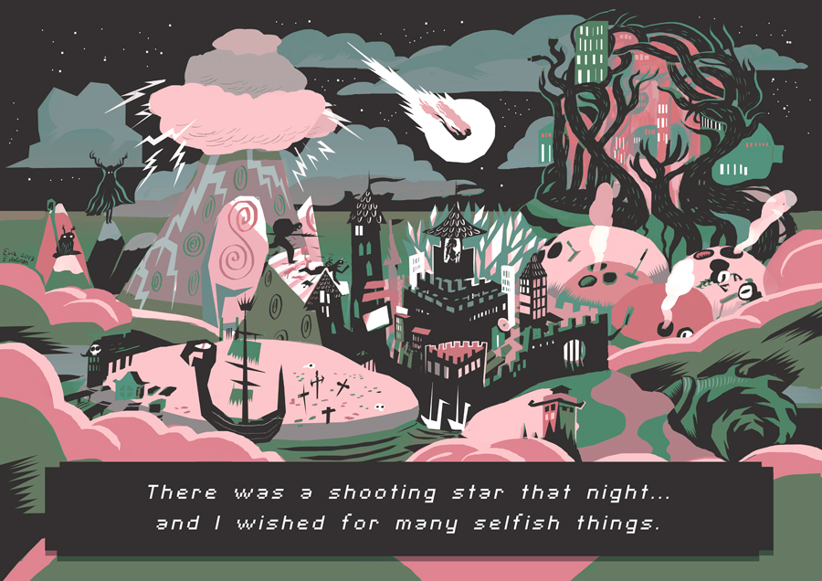 Efrite map by evelmiina